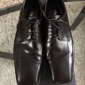 Authentic PRADA Dark Brown Men's 10 Dress Shoes
